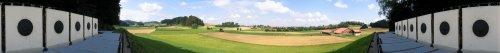 Panoramabild vom Scheibenstand