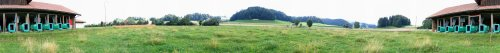 Panoramabild vor dem Schützenhaus